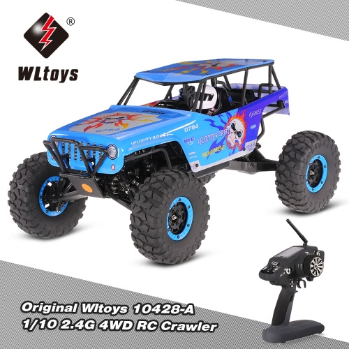 WLtoys 10428 1/10 2.4G 4WD Electric Brushed Crawler RTR RC Car