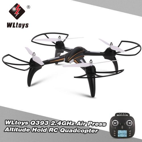 WLtoys Q393 2.4GHz 6 Axis Gyro Air Press Altitude Hold RC Quadcopter