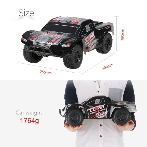 Original WLtoys L323 2.4GHz 2WD 1/10 45km/h Brushed Electric RTR Short-Course Truck RC Car от Tomtop.com INT