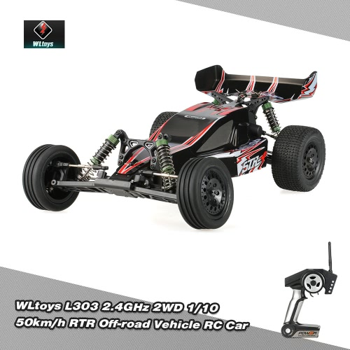 WLtoys L303 2.4GHz 2WD 1/10 50km/h Brushed Electric RTR Off-road Vehicle RC Car