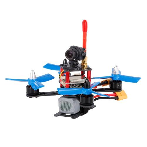 120mm 5.8G 700TVL Câmera grande angular 3 em 1 torre FPV Racing Drone F3 Flight Controller OSD ARF RC Quadcopter