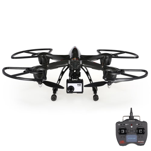 Feilun FX137C3 5.0MP Appareil photo Photographie aérienne 2.4G 6 axes Gyro Sans tête RC Quadcopter