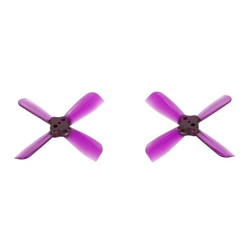 10 Pairs IDFTECH 2035 4-Blade Propeller CW/CCW for 1104 1103 Brushless Motor Q90 90GT Micro FPV Racing Drone Quadcopter