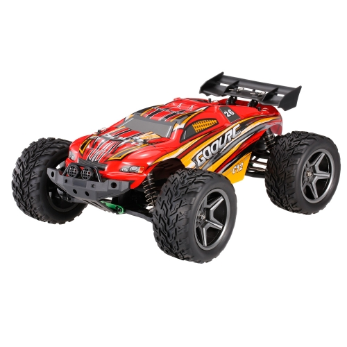 GoolRC C12 2.4GHz 2WD 1/12 35km / h Coche de Monster Electric Brushed Racing Truggy Off-Road Buggy Coche RC RTR