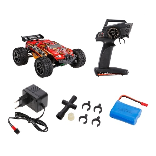 GoolRC C12 2.4GHz 2WD 1/12 35km / h Camion Monster Electric spazzolato Racing Truggy Off Road Buggy RC RTR Automobile
