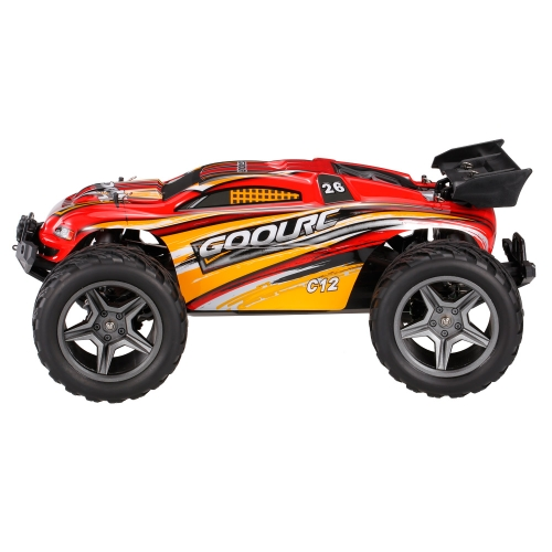GoolRC C12 2.4GHz 2WD 1/12 35km/h Brushed Electric Monster Truck Racing Truggy Off-Road Buggy RC Car RTR Image