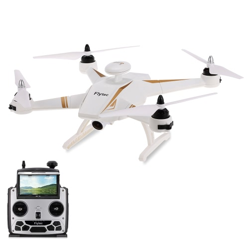 Flytec Navi T23 Brushless Doppio GPS 1080P HD Macchina 5.8G FPV Drone Segue Me Fixed Point Circling Height Holding Quadcopter