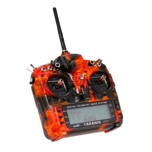 Trasmettitore radio Telemetria di trasmissione a radiofrequenza di FrSky Taranis X9D Plus SE 2.4G Open TX modalità 2 per il telaio elicottero RC Quadcopter