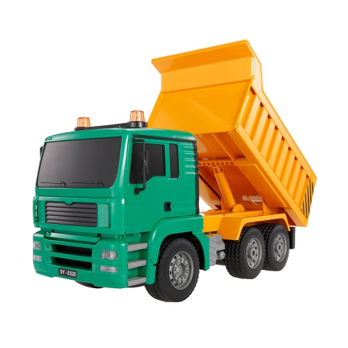 2.4G 1/20 RC Engineering Dump Truck RTR Radio Control Car LED Light Simulation Sound