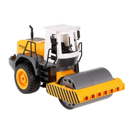 2.4G 1/20 RC Engineering Road Roller RTR Radio Control Car LED Light Simulation Sound