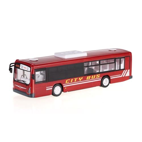 2.4G RC Bus RTR Sterowanie radiowe Otwieranie drzwi Samochodowe LED Light Symulacja dźwięku