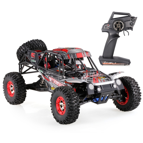 Original WLtoys 12428-C 1/12 2.4G 4WD 50km/h High Speed Electric Brushed Off-Road Vehicle Remote Radio Control Car RTR RC Car