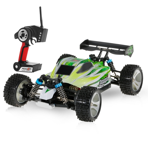 WLtoys A959-B 2.4G 1/18 Scale 4WD 70KM/h High Speed Electric RTR Off-road Buggy RC Car