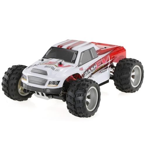WLtoys A979-B 2.4G 1/18スケール4WD 70KM / h高速電気RTRモンスタートラックRCカー