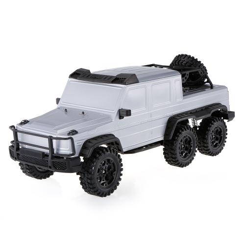 HG-P601 2.4G 1/10 6WD RC Buggy Car Profesjonalny Rock Crawler Dwubiegowy Przełącznik Skrzyni Biegów Regulowany Rozstaw Rozstawu R ...