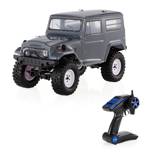HSP RGT 136100 1/10 2.4G 4WD RC Crawler Racing Eléctrico todoterreno Escalada Car Rock Cruiser RC-4 RTR