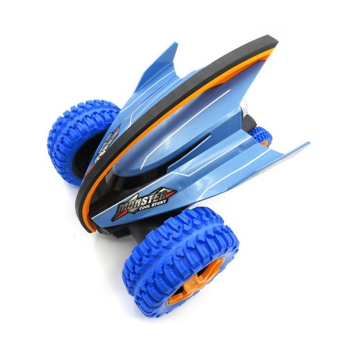 Flytec 015 Mobula Crazy Devil Fish Monster 2.4G Una llave de alta velocidad Spin Stunt Car Sparkle Light RC Coche de juguete