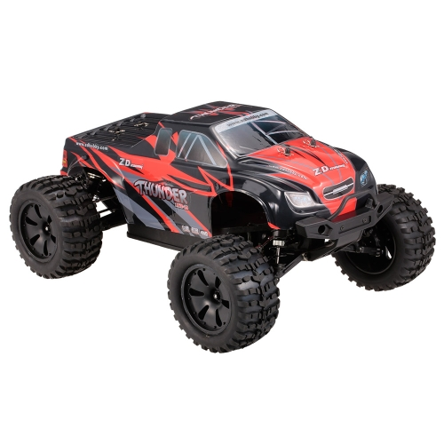 ZD Racing ZMT-10 9106S Donner 1/10 2,4 GHz 4WD Brushless Elektro Monster Truck RC Rennwagen Geländewagen