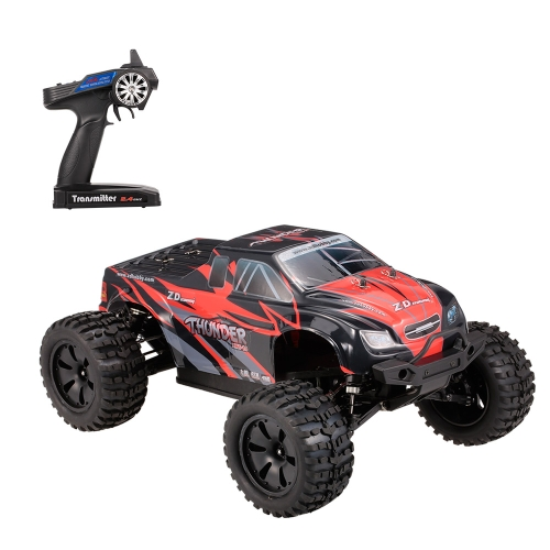 ZD Racing ZMT-10 9106S Thunder 1/10 2.4GHz 4WD Vehículo todo terreno sin escobillas eléctrico Monster Truck RC Racing Car