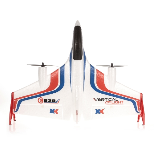 XK X520 2.4G 6CH 3D/6G Airplane VTOL Vertical Takeoff Land Delta Wing RC Drone with Mode Switch Image