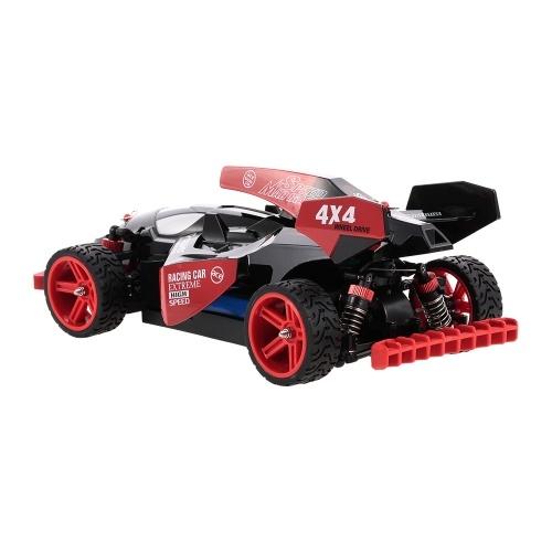 Oryginalny WLtoys 184012 2.4GHz 4WD 1/18 45KM / H Szczotkowany elektryczny RTR F1 Racing Car RC Vehicle