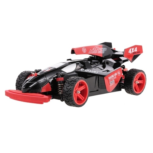 Оригинальные WLtoys 184012 2.4GHz 4WD 1/18 45KM / H Brushed Electric RTR F1 Racing Car RC Vehicle
