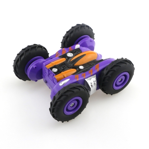 HappyCow 777-606 2.4G Double Side 360°Spinning Dazzling Light Stunt Car Electric RC Car