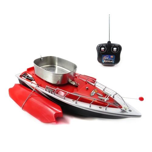 Flytec Inteligente Sem Fio Elétrico RC Isca De Pesca Barco De Controle Remoto Fish Finder Navio Holofote Brinquedos