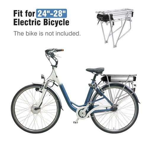 HA074-04 Electric Bicycle Rear Rack Battery with Mounting Rear Rack Image