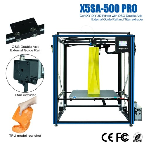 Tronxy X5SA-500PRO High Precision 3D Printer