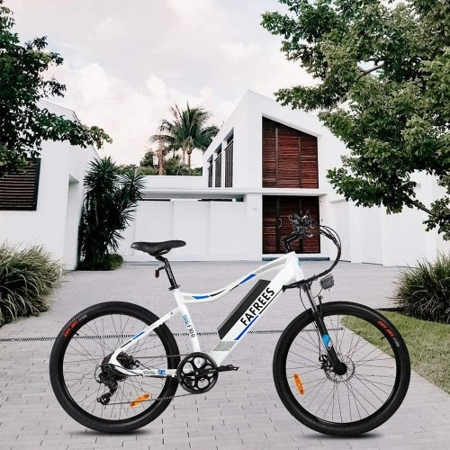 FAFREES F100 Assist Electric Bike With 11.6AH Battery for Commuting Shopping Traveling Image