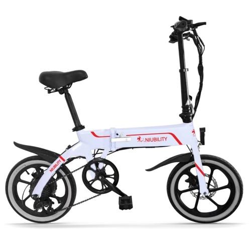 Bicicleta eléctrica plegable Niubility B16 16 pulgadas 350W 10.4Ah