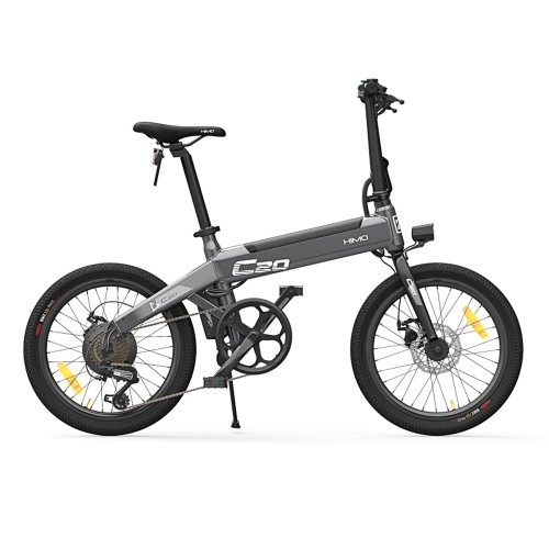 HIMO C20 20 Inch Folding 80KM Range Power Assist Electric Bicycle Moped E-Bike 10AH Image