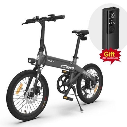 HIMO C20 20 Inch Folding 80KM Range Power Assist Electric Bicycle Moped E-Bike 10AH