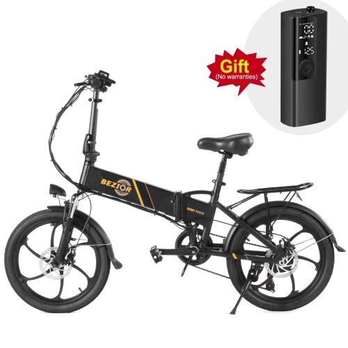BEZIOR M20 350W 20 Inch Folding Power Assist Electric Bike