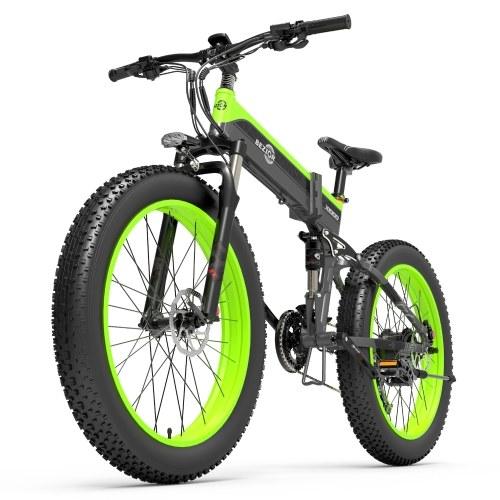 BEZIOR X1000 1000W 26 Inch Folding Power Assist Electric Bicycle