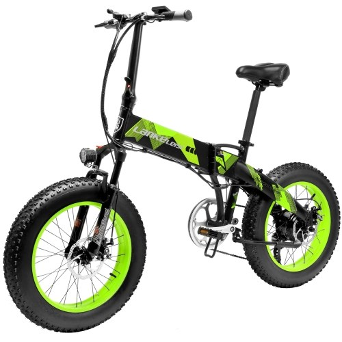 LANKELEISI X2000PLUS-1000W Assist Electric Bicycle