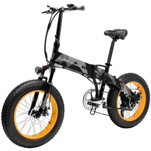 LANKELEISI X2000PLUS 1000W 20-дюймовый складной электрический велосипед с усилителем мощности E-Bike Диапазон 70-90 км