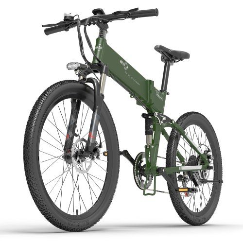 BEZIOR X500Pro 500W 26-дюймовый складной электрический велосипед с усилителем мощности E-Bike 10,4 Ач аккумулятор 100 км диапазон