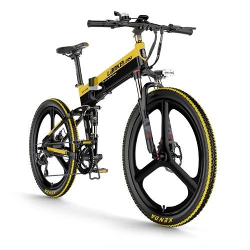 LANKELEISI XT750 ELITE Edition 26 Inch Folding  Electric Bike