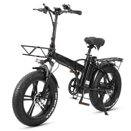 CMACEWHEEL GW20 20Inch Folding Electric Bike 5-Spoked Wheel