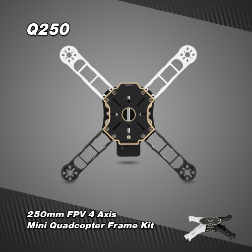 Totem Q250 250mm 4 Axis Mini Quadcopter Frame Kit for FPV Aerial Photography