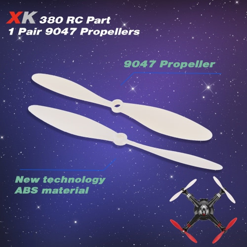1ペア オリジナル XK X380-006 9047 プロペラ XK X380 RCクワッドローター適用