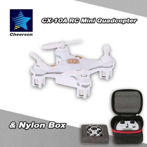 Original Cheerson CX-10A 2.4G 6-Axis Gyro RTF Mini Drone Quadcopter & Nylon Box
