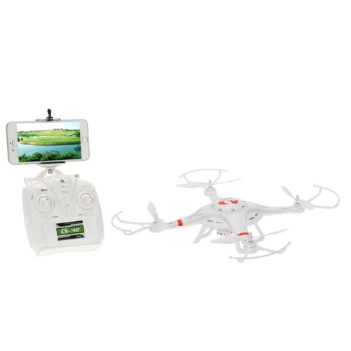 Original Cheigh CX-32W 4CH Wifi FPV 1.0MP Câmera HD RC Quadcopter com One Key Landing / Take-off e Barometer Set High