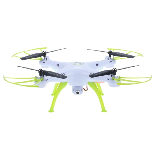 Originale SYMA X5HC 2.4GHz 4CH a 6 assi giroscopio 2.0MP HD videocamera RC Quadcopter con 360 ° Eversion CF Modalità Hover Funzione