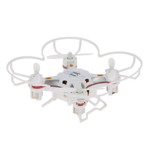 Original FQ777 124 2.4G 4CH Six-axis Gyro Pocket Drone RC Quadcopter RTF with One-key Return Headless mode 3D-flip Function