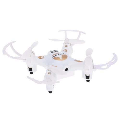 Oryginalny FQ777 951C 2,4 GHz 4-kanałowy 6-osiowy Gyro 0.3MP Kamera Mini RC Quadcopter RTF z bezgłośnym trybem 3D