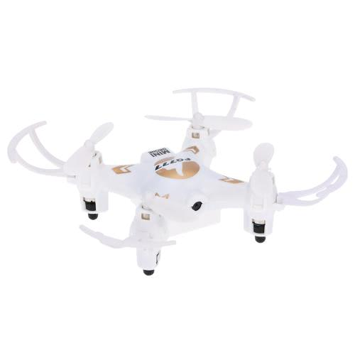 Original FQ777 951C 2.4GHz 4CH 6 axes Gyro 0.3MP Mini caméra RC Quadcopter RTF avec mode sans tête 3D-flip