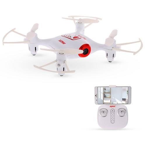 Original Syma X21W Wifi FPV 720P Barómetro da câmera Set Height RC Drone